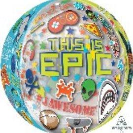 "Epic Party Orbz Balloon, 16"" (#204)"