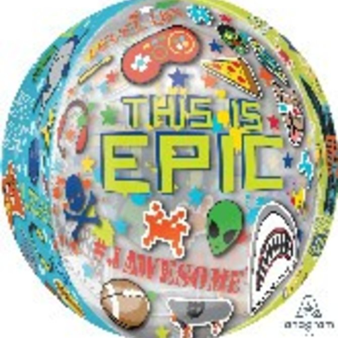 "Epic Party Orbz Balloon, 16"""