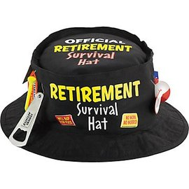 Official Retirement Survival Hat