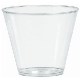 Big Party Pack Clear Plastic Tumblers, 9oz. 72ct