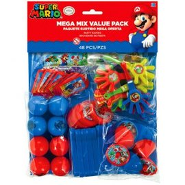 Super Mario Brothers™ Mega Mix Value Pack Favors 48 piece