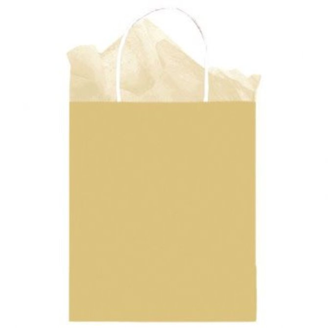 Bag Solid Medium Kraft Gold