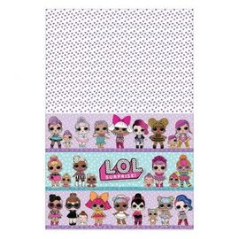 """LOL SUPRISE! PAPER TABLE COVER 54""""x 96"""""""