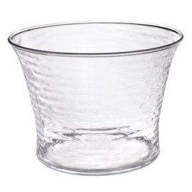 Hammered Clear Beverage Tub 3.6 gallon