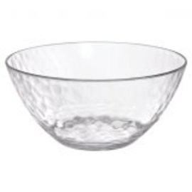 Hammered Clear Small Bowl, 21 oz