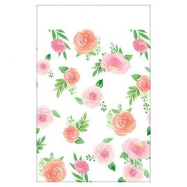 Floral Baby Paper Table Cover