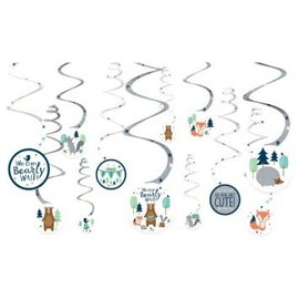 Bear-ly Wait Swirl Decorations Value Pack 12Ct