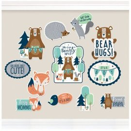 Bear-ly Wait Cutouts 12Ct