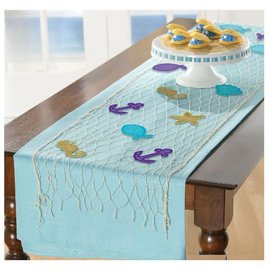 Mermaid Wishes Table Runner