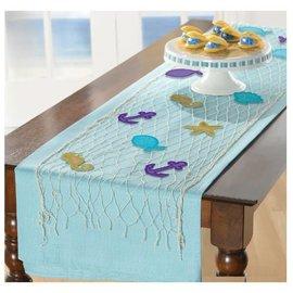 Mermaid Wishes Table Runner