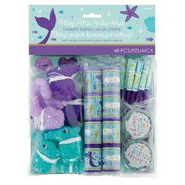 Mermaid Wishes Mega Mix Favors 48Pc