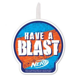 Nerf® Birthday Candle