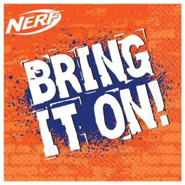 Nerf Lunch Napkins 16 Ct