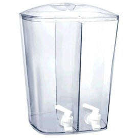 Double Beverage Dispenser, 3 Gallon