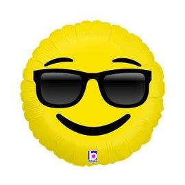 "Emoji Sunglasses Balloon, 18"" (#229)"