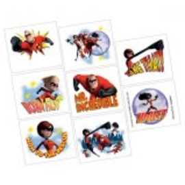 ©Disney/Pixar Incredibles 2 Tattoos 8ct - Clearance