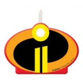 ©Disney/Pixar Incredibles 2 Birthday Candle - Clearance