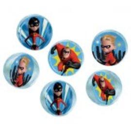 ©Disney/Pixar Incredibles 2 Bounce Balls 6ct.