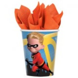 ©Disney/Pixar Incredibles 2 Cups, 9 oz. 8ct. - Clearance