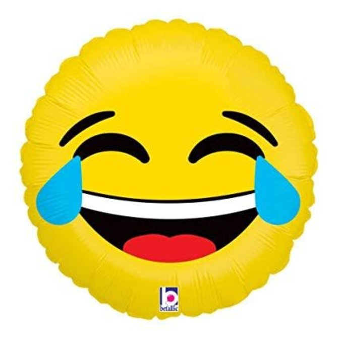 Emoji LOL Balloon, 18""