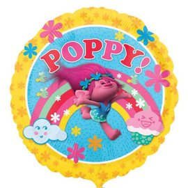 "Trolls Poppy Balloon, 18"" (#232)"