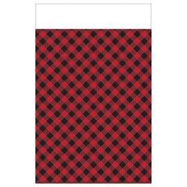 Little Lumberjack Birthday Paper Table Cover