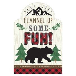 Little Lumberjack Birthday Postcard Invitations