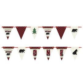 Little Lumberjack Birthday Pennant Banner