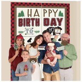 Little Lumberjack Birthday Scene Setters® w/ Props