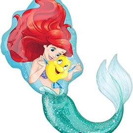 """Little Mermaid Balloon, 34"""" (#192)"""