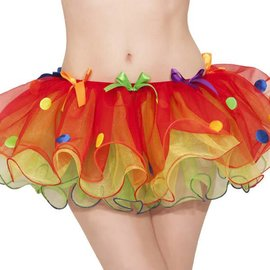 Sassy Clown Tutu - Adult Standard