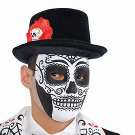 Top Hat Men's Day Of The Dead