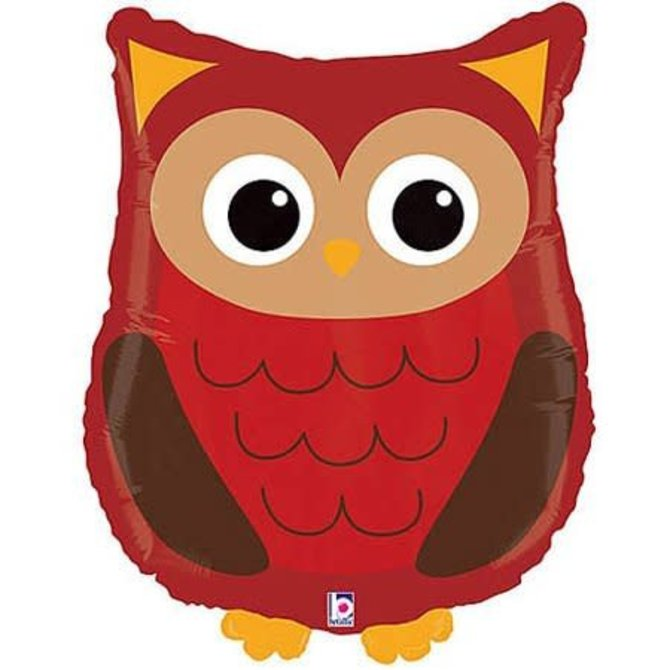 Woodland Owl Balloon, 26""