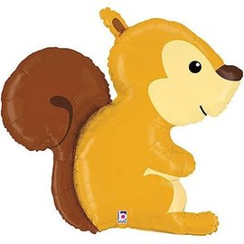 Woodland Squirrel Balloon, 36""