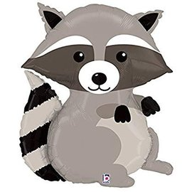 """Woodland Raccoon Balloon, 36"""""""