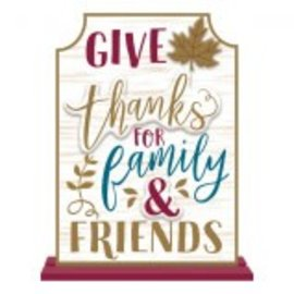 Give Thanks Stand Sign