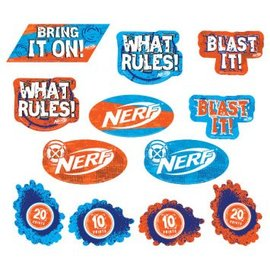 Nerf® Value Pack Cutouts Asst. 12CT