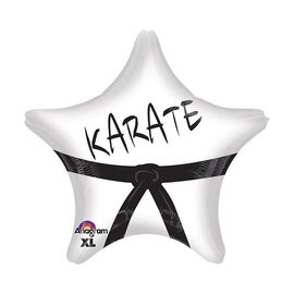 "Karate Star Balloon, 18"" (#254)"