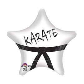 "Karate Star Balloon, 18"""