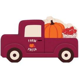 Mini Standing Pumpkin Truck