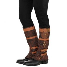 Steampunk Boot Spats - Men's Adult