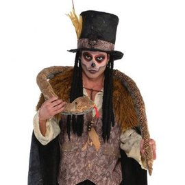 "Wearable Snake-Witch Doctor 79""long"