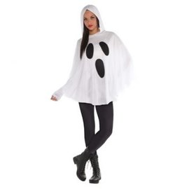 Ghost Poncho - Adult Standard