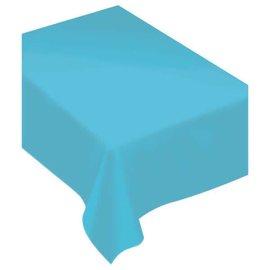 Fabric Tablecloth - Caribbean Blue