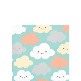 Happy Clouds Beverage Napkins 16ct