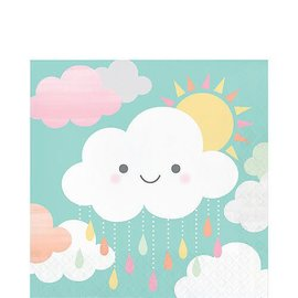 Happy Clouds Lunch Napkins 16ct