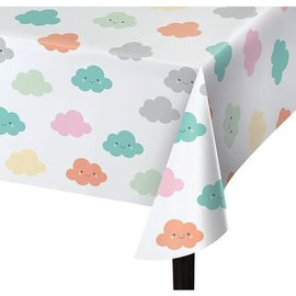 Happy Clouds Table Cover