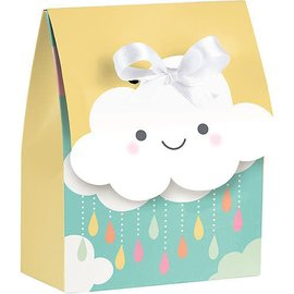 Happy Clouds Favor Boxes 12ct