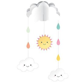 Happy Clouds String Decoration