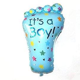 """It's a Boy Foot Shape Balloon, 32"""""""